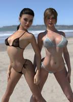 The Beach by Crucho