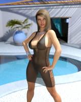 Greek Goddess by Crucho