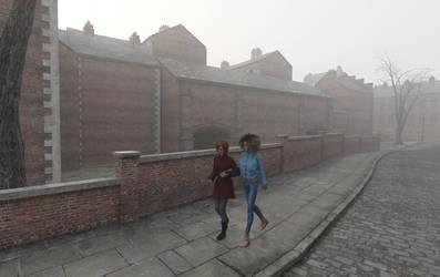 Foggy Day by Crucho