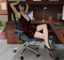 Secretary by Crucho