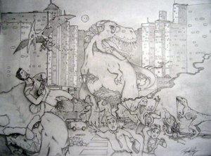 Z. Dinosaurs by TheHashishin by GoreGalore