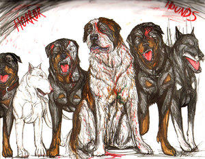 Horror Hounds by mastRsDggy by GoreGalore