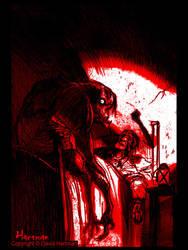 BLOOD-by sideshowmonkey by GoreGalore