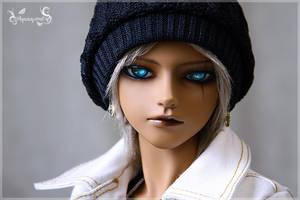 Face Shot -- Haru by Yamikiwi