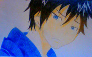 Rin from Blue Exorcist (Request) by umizuu