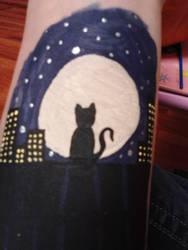 cat by YukiRiku