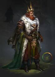 Elves king by VikiGrafika