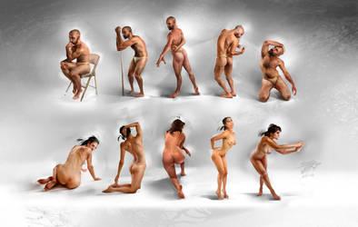 All figures by ViktoriiaVovchuk by VikiGrafika