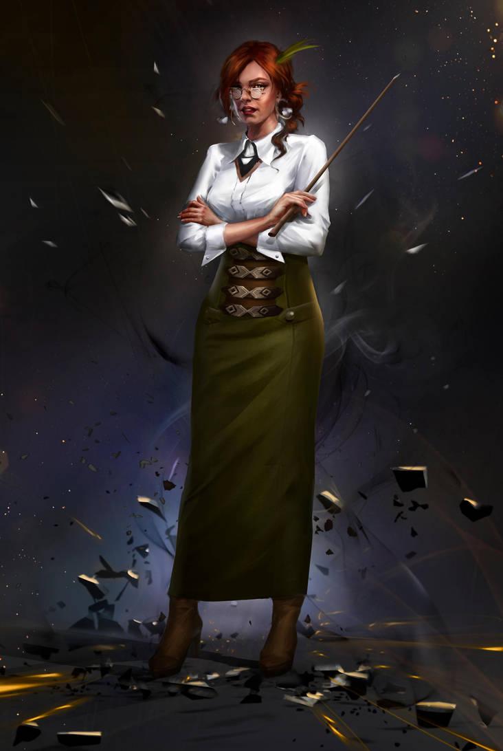teacher byViktoriiaVovchuk FINAL by VikiGrafika
