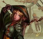 Archer elf by Heorukz