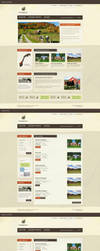 Farm advertising site by Svendsen