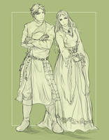 Jaime and Cersei by colgatetotal97