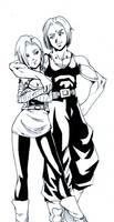 Imposible Couples: 18 and Trunks by KukuruyoArt