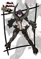 Female version: Black Diablos by KukuruyoArt