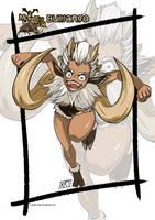 Bullfango Monster girl by KukuruyoArt