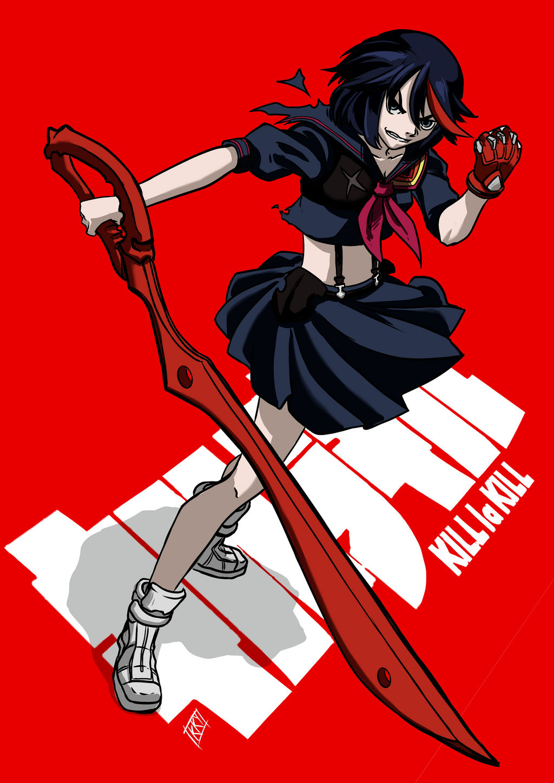 Kill la Kill fanart by KukuruyoArt