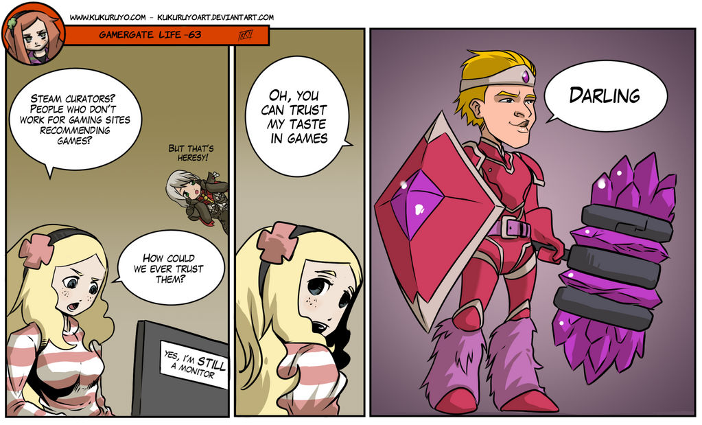 gamergate life 63 by kukuruyoart on deviantart