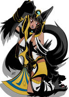 Sexy Anubis by KukuruyoArt