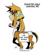Monster girls shaming #2 by KukuruyoArt