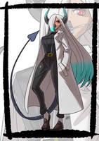 Commission: Asuka monster girl by KukuruyoArt
