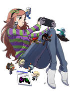Gamergate second anniversary by KukuruyoArt