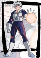 Commission: Super saiyan white by KukuruyoArt