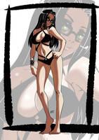 Commission: Bikini Oc by KukuruyoArt