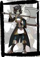 Commission: Orc by KukuruyoArt