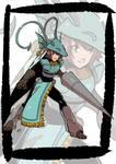 Commission: Mixed character by KukuruyoArt