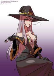 Goblin slayer's Witch by KukuruyoArt