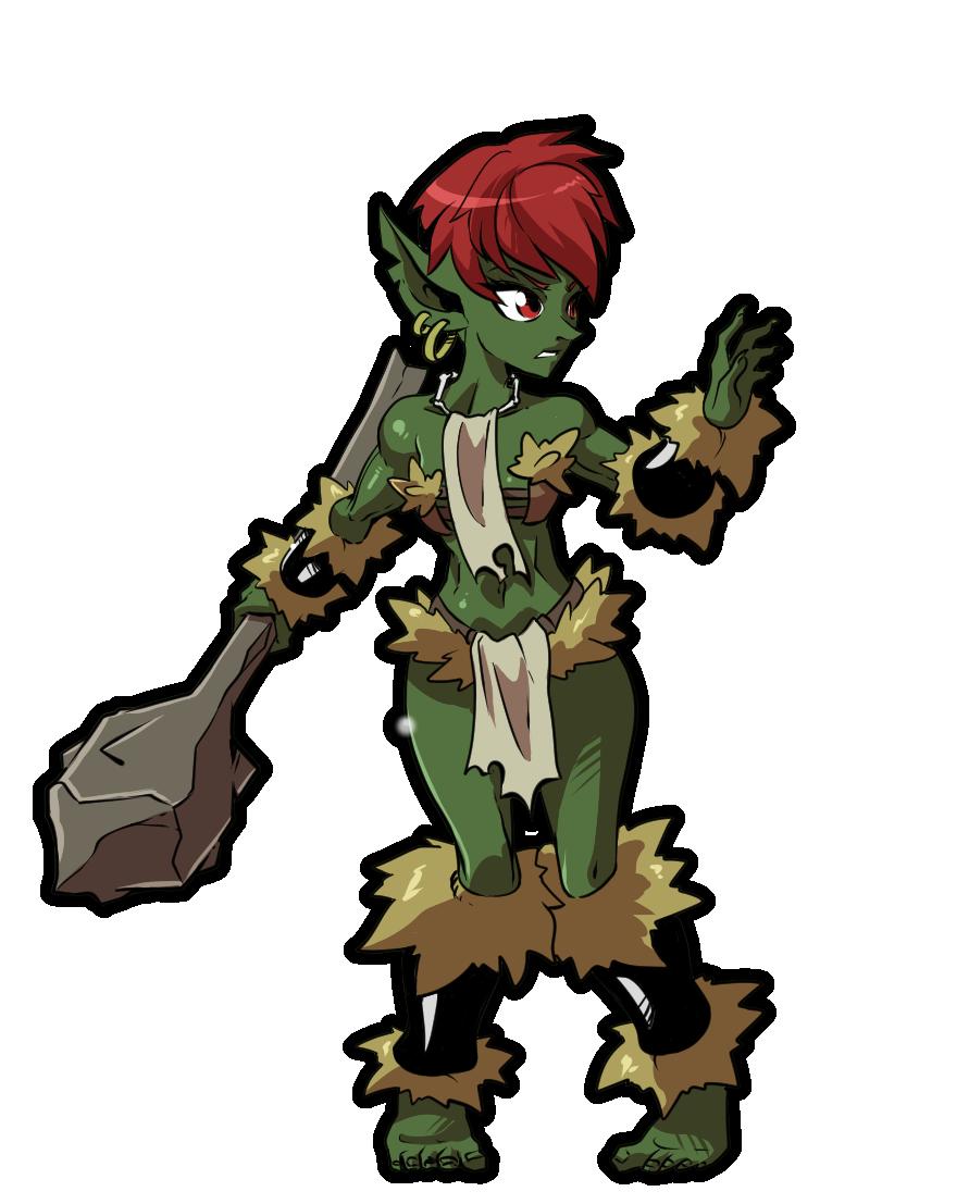 Goblin monster girl by KukuruyoArt