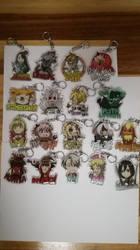 New keychains by KukuruyoArt