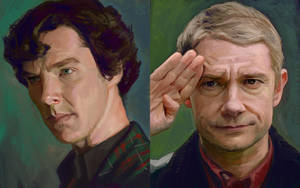 TV Duo 1 - Holmes Watson by astoralexander