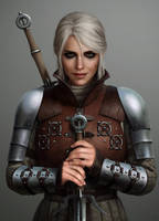 Ciri in Ursine by astoralexander