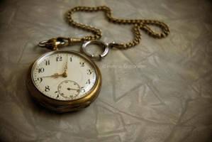 Pocket clock. by Heleneee