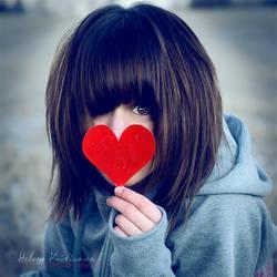 My little heart cliche. by Heleneee