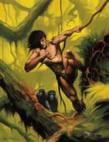 Tarzan by scarrart
