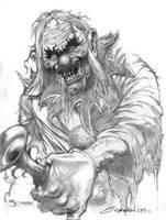 Clown by scarrart