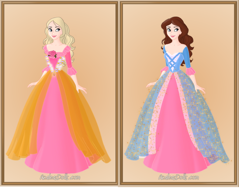 Analise And Erica The Princess And The Pauper By Disneyfanart1998