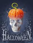 Halloween Card PS Tutorial by AlexandraF