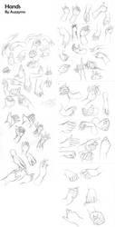 Hand practice by Auzzymo
