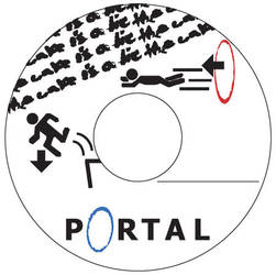 Poratl CD Label by JesuTheMessiah