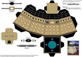 Cubee - Dalek 'Doctor Who' by CyberDrone