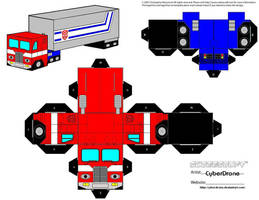 Cubee - Prime 'Truck' by CyberDrone