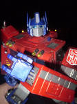 Optimus Prime Rocks by CyberDrone