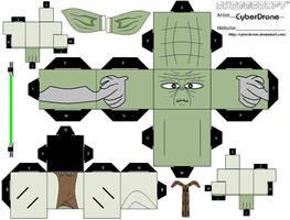 Cubee - Yoda by CyberDrone