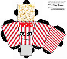 Cubee - Popcorn by CyberDrone