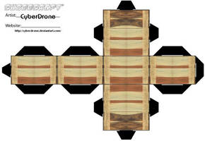 Cubee - Wooden Crate 1 by CyberDrone