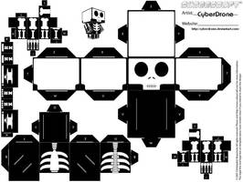 Cubee - Skeleton by CyberDrone