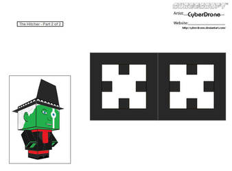 Cubee - The Hitcher '2of2' by CyberDrone